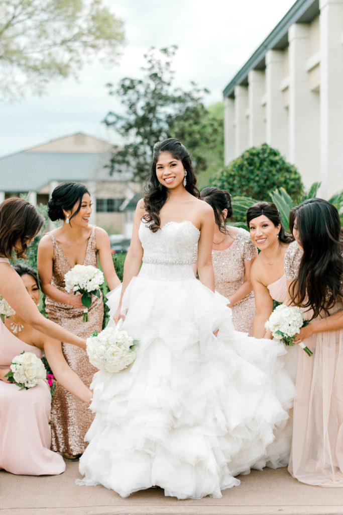 Sweetwater Country Club Wedding | St. Laurence Church Wedding | Sugar Land Texas
